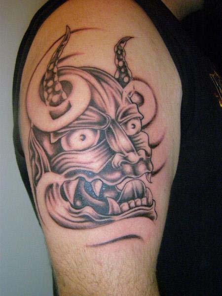 Asian Theme Tattoo