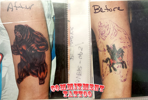 Bad Ink Tattoo Coverup St Petersburg Fl