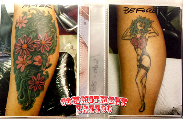 Creative Before and After Tattoos Transform Bad Body Art ...   Bad Ink Truck