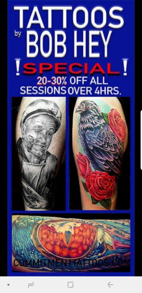 Commitment Tattoo Shop – Downtown St. Petersburg, FL — Tattoo Shop ...